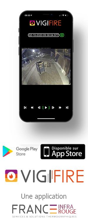 Application smartphone vigifire