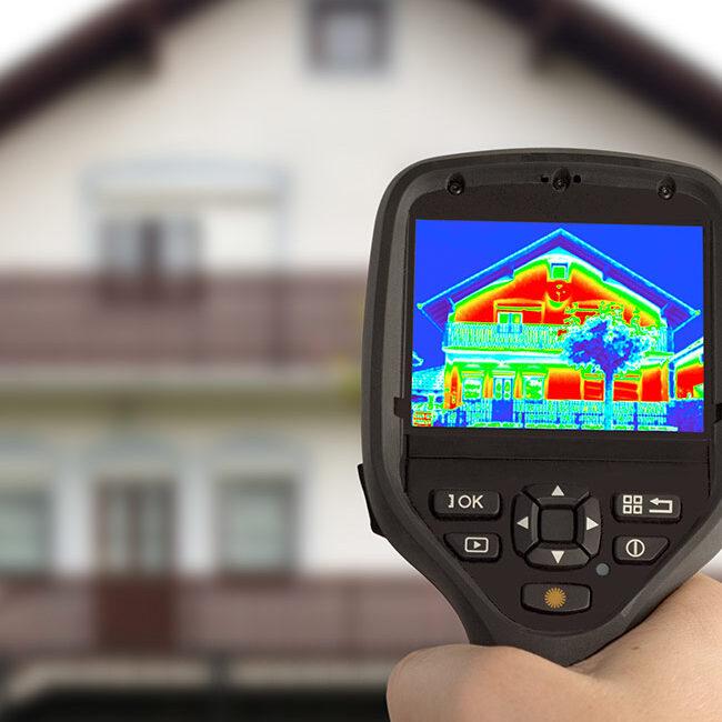 Thermographie detection de source de chaleur
