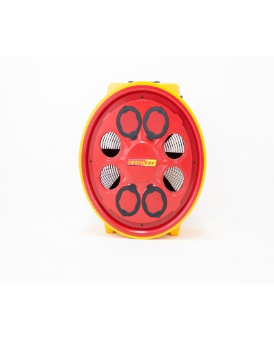 Etalonnage ventilateur RETROTEC